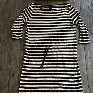 H&M Long Sleeve Striped Dress
